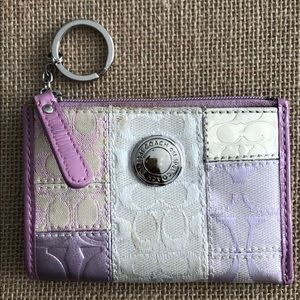 Small Coach Coin and Key Purse